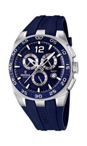 Festina Herren-Armbanduhr XL Analog Quarz Plastik F166682