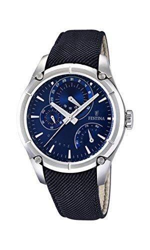 Festina Herren-Armbanduhr XL Analog Quarz verschiedene Materialien F167672