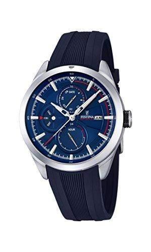 Festina Herren-Armbanduhr Analog Quarz Plastik F168292