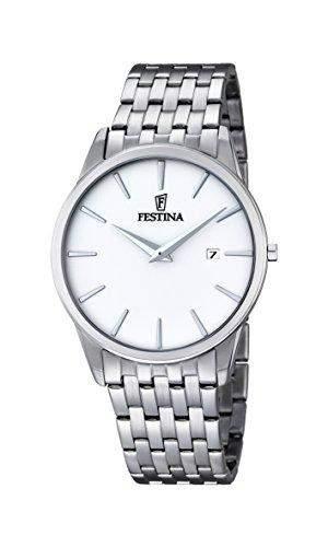 Festina Herren-Armbanduhr Analog Quarz Edelstahl F68331