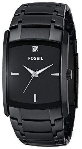 Fossil Herren-Armbanduhr Analog Edelstahl schwarz Arkitekt Dress FS4159