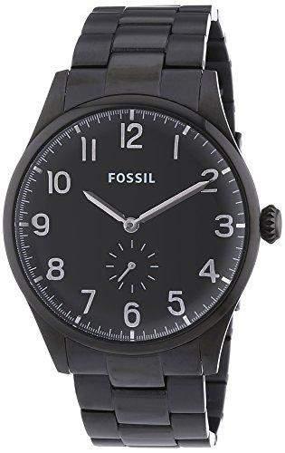 Fossil Herren-Armbanduhr XL Analog Quarz Edelstahl FS4854
