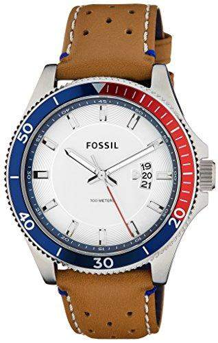 Uhr Fossil Wakefield Fs5054 Herren Weiss