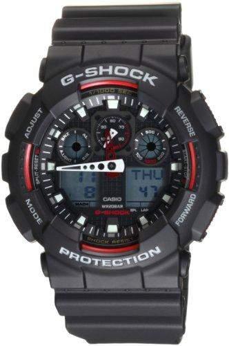 Casio GA100-1A4 Mens G-Shock Anti-Magnetic X-Large G Watch