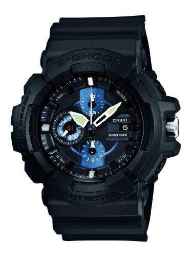 Casio Herren-Armbanduhr XL G-Shock Analog Quarz Resin GAC-100-1A2ER