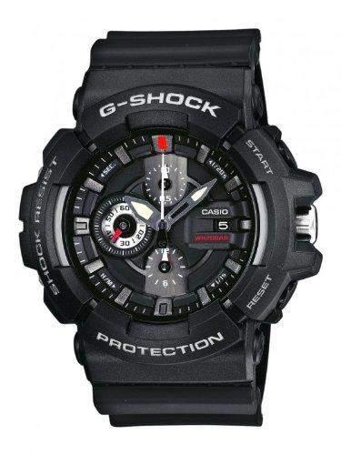 Casio Herren-Armbanduhr XL G-Shock Analog Quarz Resin GAC-100-1AER