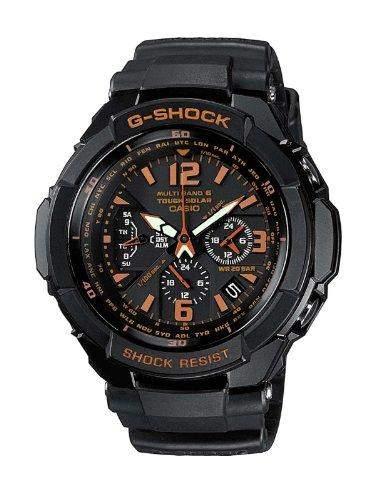 Casio G-Shock Herren-Armbanduhr Funk-Solar-Kollektion Analog Quarz GW-3000B-1AER