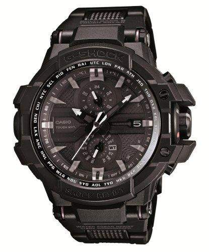 Casio G-Shock Sky Cockpit Flight composite watchband adopted movement tough with six corresponding radio station Mens Solar Watch GW-A1000FC-1AJF