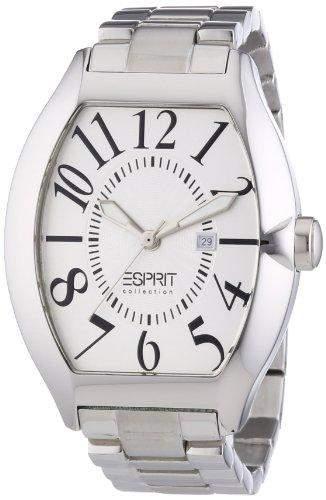 Esprit Collection Herren-Armbanduhr hector silver Analog Quarz Edelstahl EL101081F05