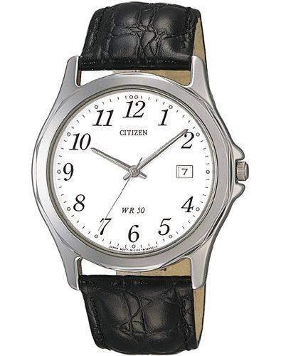 Citizen Herrenuhr LEDER BI0740-02A