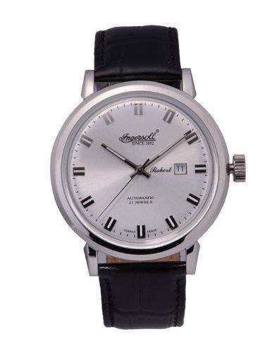 Ingersoll Herren IN8005SL Robert Analog Display Automatische selbst wind black watch