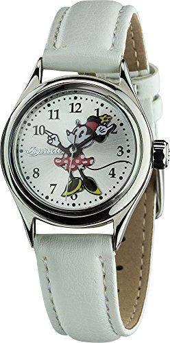 Ingersoll Disney GirlHerren-Armbanduhr 17251562 Analog-Anzeige und weisse PU Strap 26525