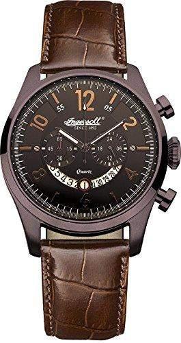 Sehr schoene Armbanduhr mit Quartzwerk Ingersoll -Shelsea- INQ007BKBR