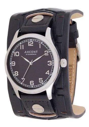 Axcent Herren-Armbanduhr Member Analog Quarz Schwarz IX15023-217