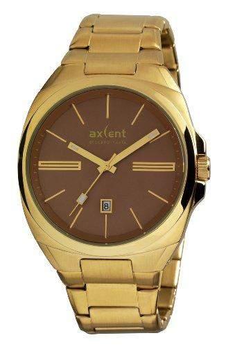 Axcent Herren-Armbanduhr Impact Analog Quarz Edelstahl IX20847-732