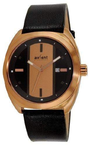Axcent Herren-Armbanduhr Racer Analog Quarz Leder IX5650R-237