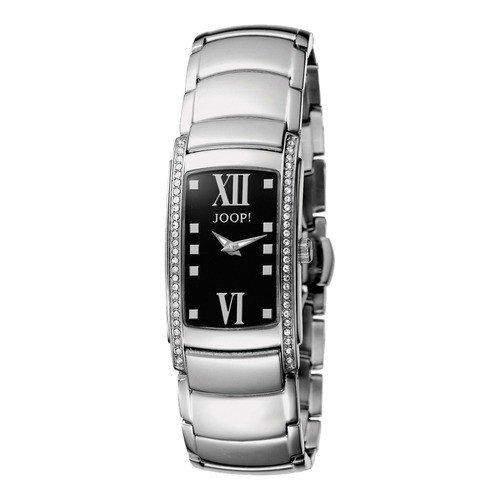 Joop! Damen-Armbanduhr XS Analog Quarz Edelstahl JP100232003U