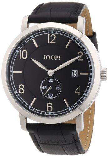 Joop! Herren-Armbanduhr XL Stage Analog Quarz Leder JP100611F02