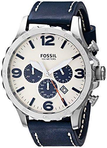 Uhr Fossil Nate Jr1480 Herren Weiss