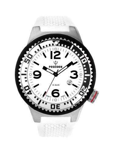 Kienzle Herren-Armbanduhr XL POSEIDON Analog Silikon K2011152093-00255