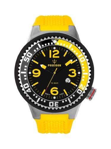 Kienzle Herren-Armbanduhr XL POSEIDON Analog Silikon K2011153033-00249