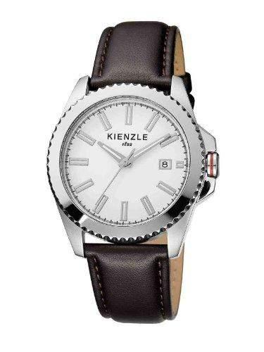 Kienzle Herren-Armbanduhr XL Analog Leder K3061011021