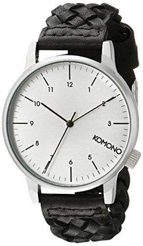 KOMONO Herren-Armbanduhr Analog Quarz Polyurethan KOM-W2032