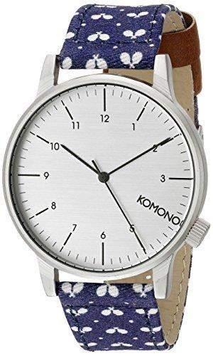 Komono Herren-Armbanduhr Analog Quarz Polyurethan KOM-W2152