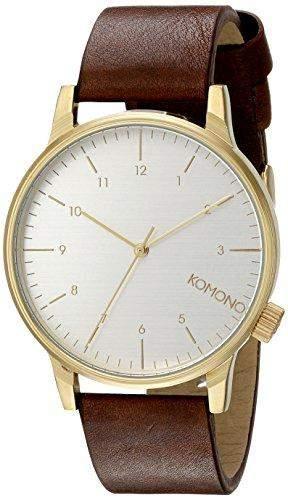 Komono Herren-Armbanduhr Analog Quarz Polyurethan KOM-W2254