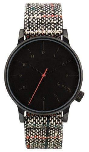 Komono Herren-Armbanduhr Analog Quarz Leder KOM-W2302