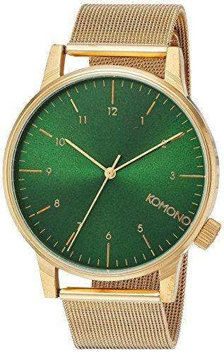 Komono Winston Royale Uhr gold GOLD GREEN