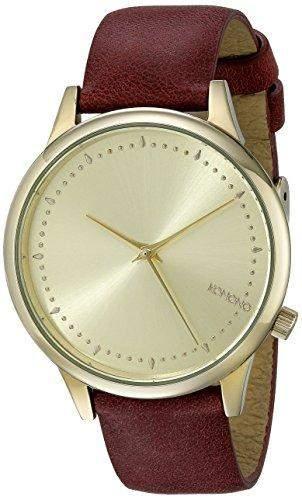 KOMONO Damen-Armbanduhr Analog Quarz Polyurethan KOM-W2452