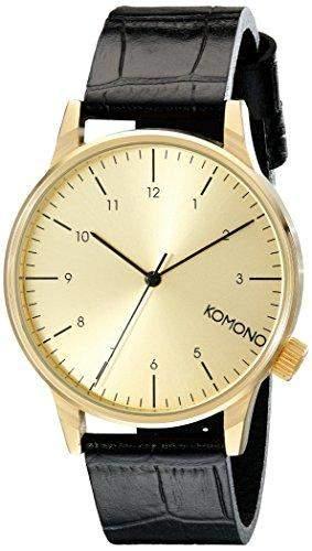 Komono Herren-Armbanduhr Analog Quarz Polyurethan KOM-W2550