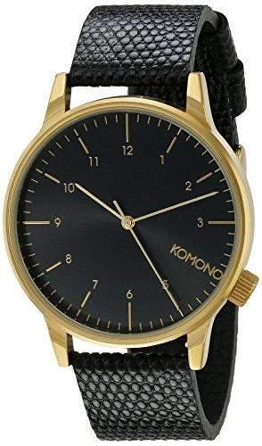 Komono Herren-Armbanduhr Analog Quarz Polyurethan KOM-W2551