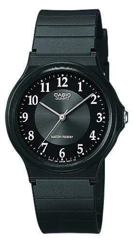 Casio Herren-Armbanduhr Analog Quarz Resin MQ-24-1B3LLEF