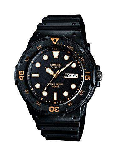 Casio Herren-Armbanduhr Casual Analog Quarz Resin MRW-200H-1E