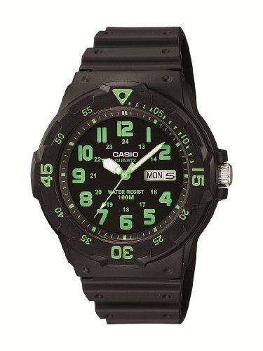 Casio Herren-Armbanduhr Analog Quarz Resin MRW-200H-3BVEF