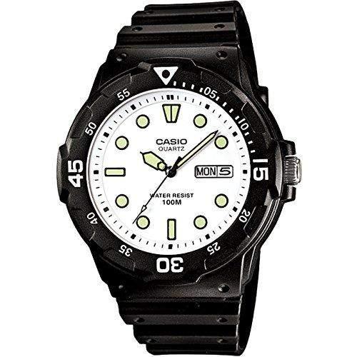 Casio Uhr mit japanischem Quarzuhrwerk MRW-200H-7E 45 mm