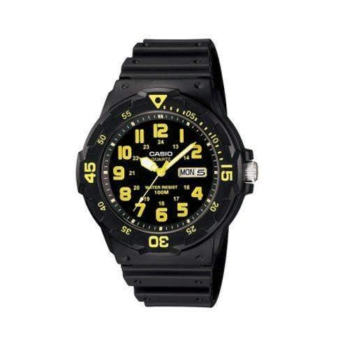 CASIO Herren-Armbanduhr Analog Quarz Resin MRW-200H-9