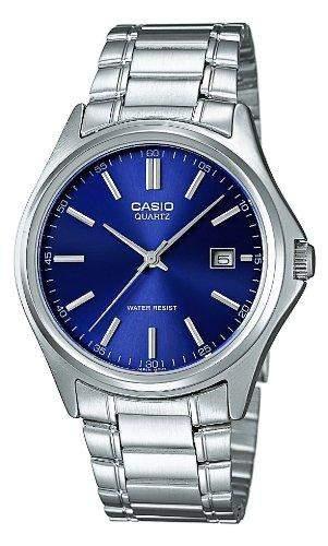 Casio Herren-Armbanduhr Analog edelstahl Silber MTP-1183PA-2AEF