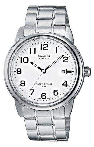 Casio Herren-Armbanduhr Analog Quarz Edelstahl MTP-1221A-7BVEF