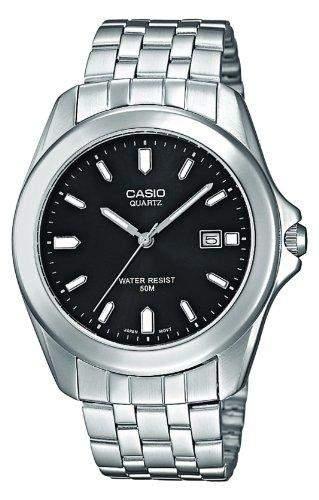 Casio Herren-Armbanduhr Analog Quarz Edelstahl MTP-1222A-1AVEF