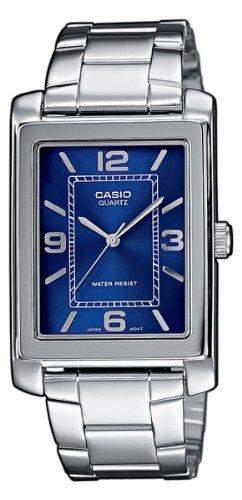 Casio Herren-Armbanduhr Analog Edelstahl gold MTP-1234D-2AEF