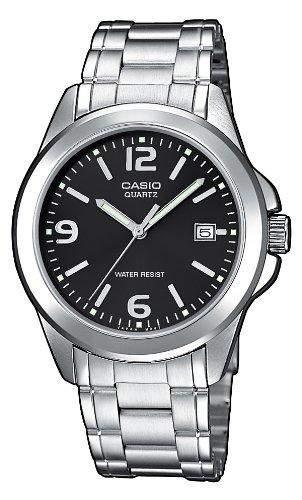 Casio Herren-Armbanduhr Analog Edelstahl gold MTP-1259D-1AEF