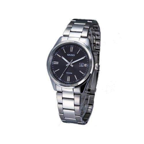 Casio Herren-Armbanduhr Classic Analog Quarz Edelstahl MTP-1302D-1A1