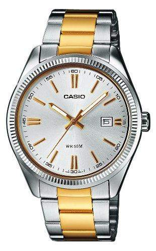 Casio Collection Herren-Armbanduhr Analog Quarz MTP-1302PSG-7AVEF