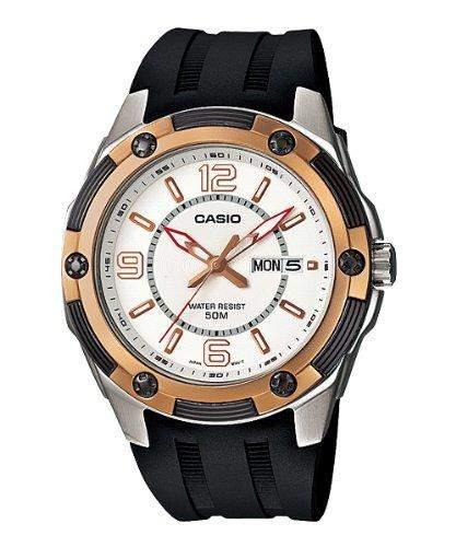 Casio MTP - 1327-7A1 Herren-Armbanduhr Classic Analog, Kunstharz, Schwarz