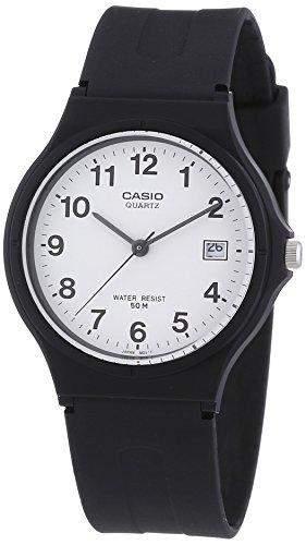 Casio - MW-59-7BVEF - Herrenarmbanduhr - Quarzuhrwerk - Analogue - Bracelet Resin schwarz