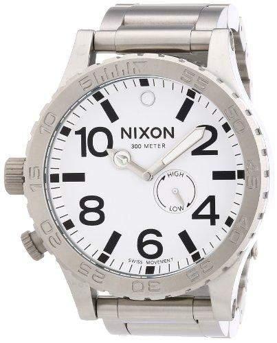 Nixon Unisex-Armbanduhr 51-30 Analog Quarz Edelstahl A057100-00