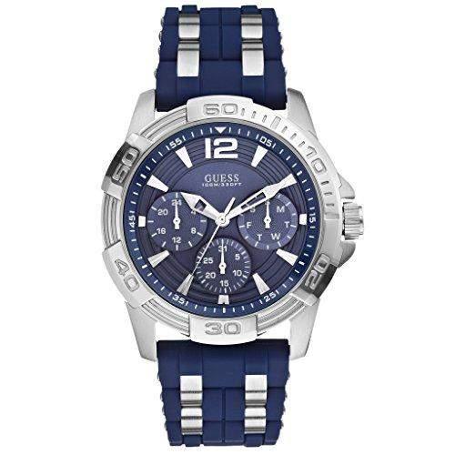 Guess Herren-Armbanduhr Analog Quarz Kautschuk W0366G2